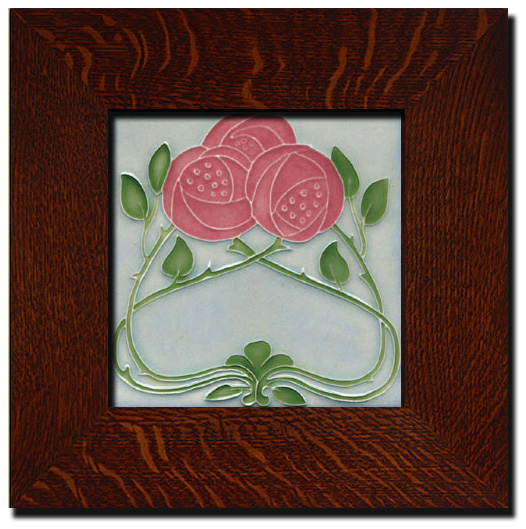 Hand Made arts and Crafts Tile